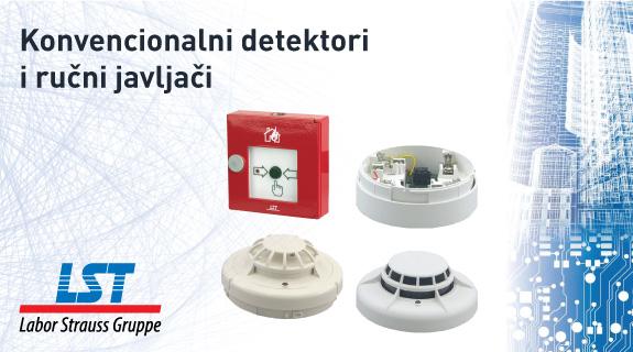 LST konvencionalni detektori i ručni javljači